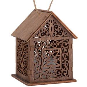 Светильник «Уютный домик», тонированный