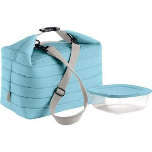 Набор Handy: термосумка и контейнер, большой, голубой