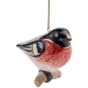 Фарфоровая елочная игрушка Twitt