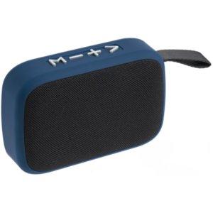 Беспроводная колонка с FM-радио Borsetta, синяя
