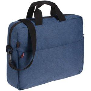 Сумка для ноутбука Burst Locus, синяя