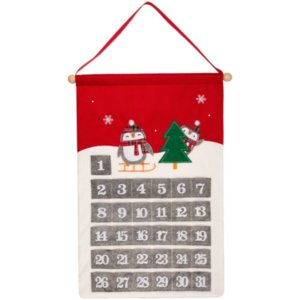 Адвент-календарь Noel, с пингвинами