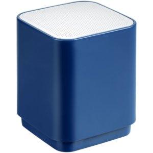 Беспроводная колонка с подсветкой логотипа Glim, синяя