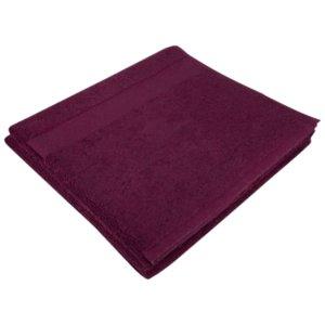 Полотенце Soft Me Large, гранатовое