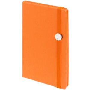 Блокнот Shall Round, оранжевый