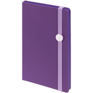Блокнот Shall Round, фиолетовый