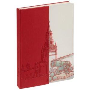 Блокнот «Москва», красный