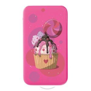 Внешний аккумулятор Сupcake 5000 мAч, розовый