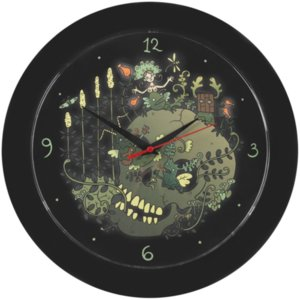Часы настенные «Серенада», черные