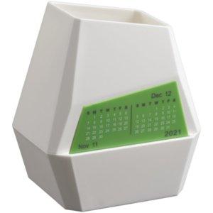 Органайзер настольный с календарем Penman, белый