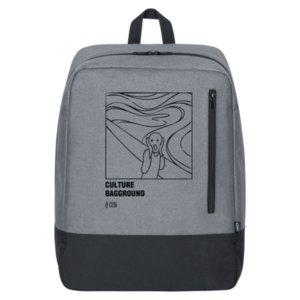Рюкзак «Culture Bagground. Мунк», серый