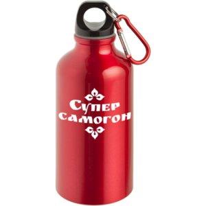 Бутылка Kuzno «Супер самогон!» красная
