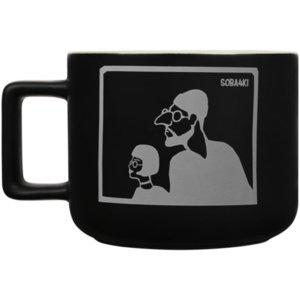Чашка «Леон», черная