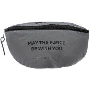 Поясная сумка May The Force Be With You из светоотражающей ткани