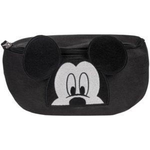 Поясная сумка «Микки Маус», черная