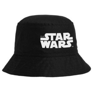 Панама Star Wars, черная с белым