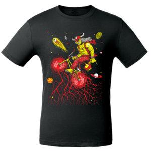 Футболка Bob Didle «BMX» , чёрная