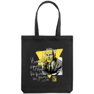 Холщовая сумка Ночлежка «Бродский» чёрный