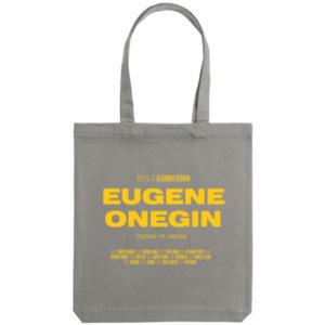 Холщовая сумка «Eugene Onegin», серая