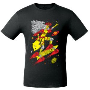 Футболка Bob Didle «Skate» , чёрная