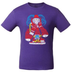 Футболка Bob Didle «Космонавт» , фиолетовая