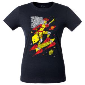 Футболка женская Bob Didle «Skate» , тёмно-синяя