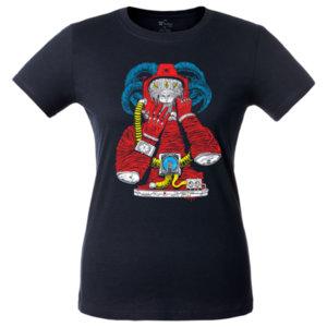Футболка женская Bob Didle «Космонавт» , тёмно-синяя