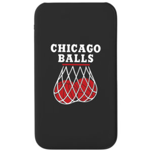Внешний аккумулятор 5000 мА Bob Didle «Chicago balls» , чёрный