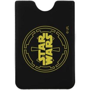 Чехол для карточки Star Wars, черный с желтым