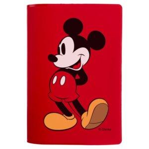 Обложка для паспорта «Микки Маус», красная