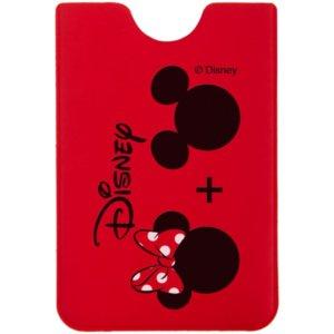 Чехол для карточки «Минни и Микки», красный