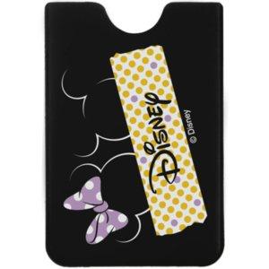 Чехол для карточки Minnie and Mickey, черный