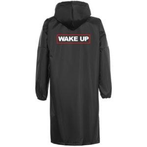 Дождевик «Wake up», чёрный