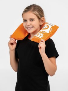 Надувная подушка под шею BB-8 Droid в чехле, оранжевая