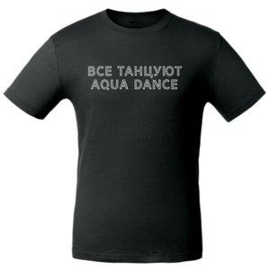 Футболка  «AQUA DANCE», чёрная