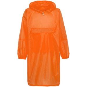 Дождевик-анорак Alatau, оранжевый неон