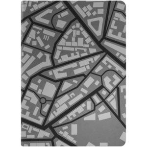 Ежедневник City, недатированный, черный