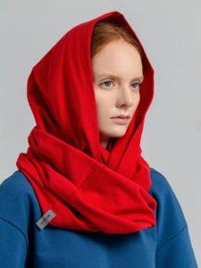 Снуд Vozduh, красный