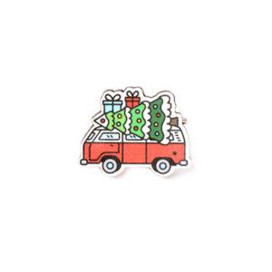 Значок «Новогодняя доставка»