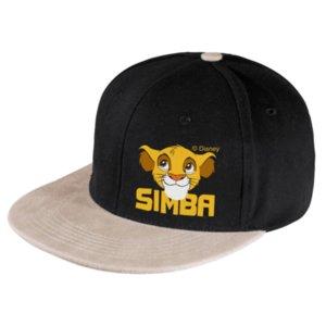 Бейсболка с прямым козырьком Simba, черная с бежевым