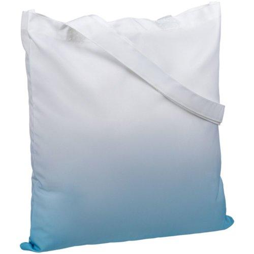 Сумка для покупок Shop Drop, бело-голубой градиент