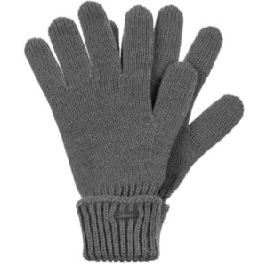 Перчатки Alpine, серый меланж