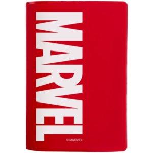 Обложка для паспорта Marvel, красная