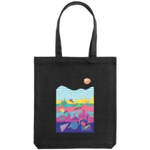 Холщовая сумка «Saint Petersburg», черная