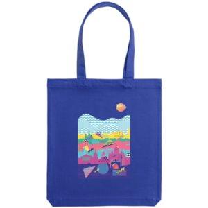Холщовая сумка «Saint Petersburg», синяя