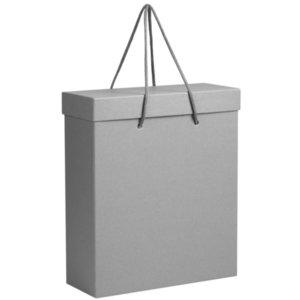 Коробка Handgrip, большая, серая