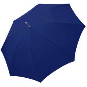 Зонт-трость Fiber Golf Fiberglas, темно-синий