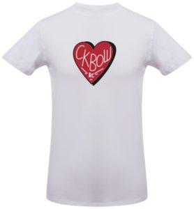 Футболка «Love squash», белая