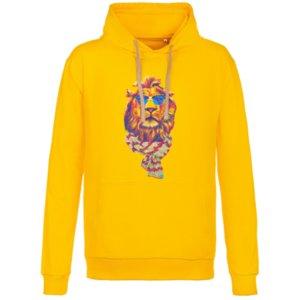 Толстовка «Лев», желтая