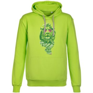 Толстовка «Лев», зеленая